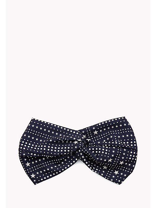 TOMMY HILFIGER Bandana Print Headband - PEACOAT - TOMMY HILFIGER VACATION FOR HER - main image