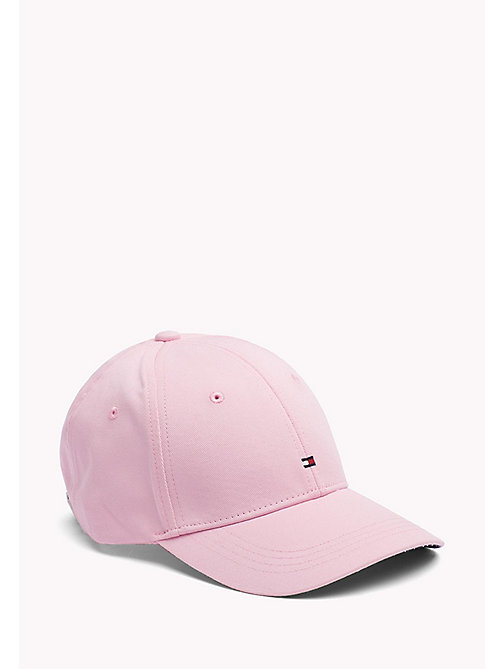 TOMMY HILFIGER Cotton Cap - ORCHID PINK - TOMMY HILFIGER VACATION FOR HER - main image