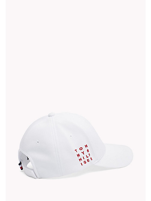 TOMMY HILFIGER Star Baseball Cap - BRIGHT WHITE - TOMMY HILFIGER VACATION FOR HER - detail image 1