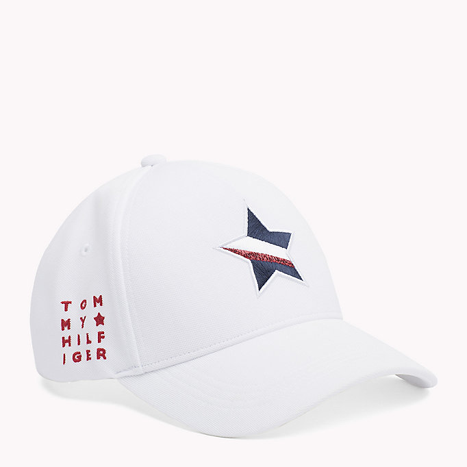 TOMMY HILFIGER Star Baseball Cap - TOMMY NAVY - TOMMY HILFIGER Women - main image