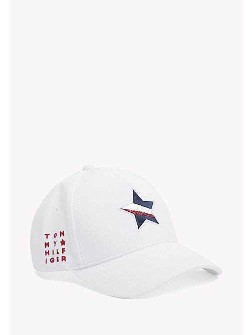 TOMMY HILFIGER Star Baseball Cap - BRIGHT WHITE - TOMMY HILFIGER VACATION FOR HER - main image