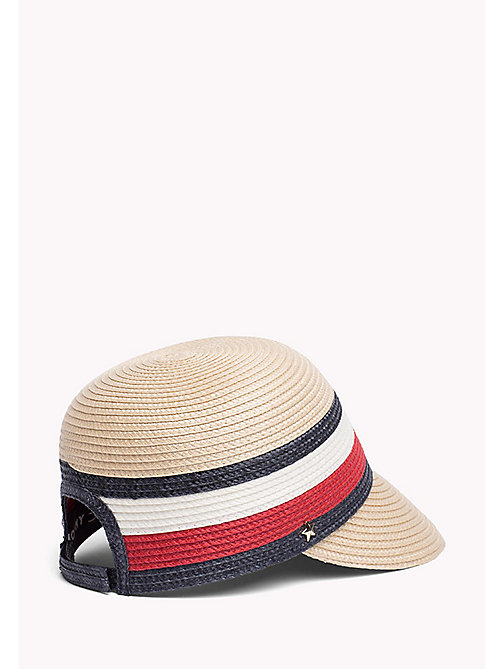 TOMMY HILFIGER Stripe Straw Cap - CORPORATE - TOMMY HILFIGER VACATION FOR HER - detail image 1