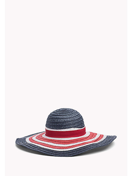 TOMMY HILFIGER Straw Wide Brim Hat - CORPORATE - TOMMY HILFIGER Torby & Akcesoria - detail image 1