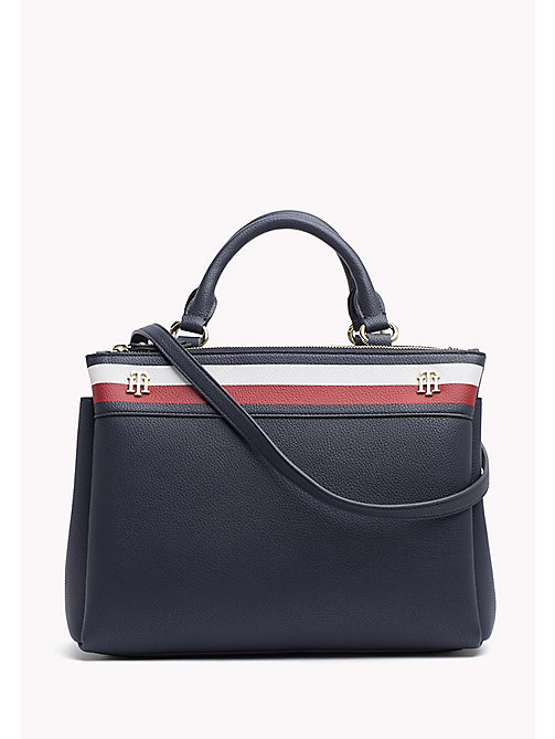 TOMMY HILFIGER Monogram Embossed Bag - CORPORATE - TOMMY HILFIGER Bags & Accessories - main image