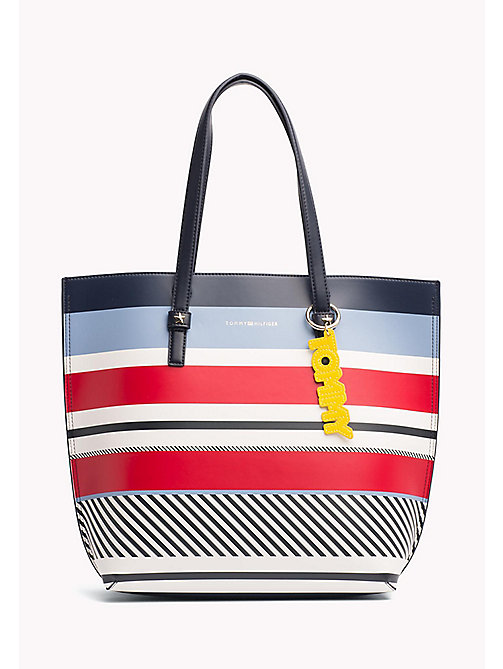 TOMMY HILFIGER Statement shopper - MULTI STRIPE - TOMMY HILFIGER Shoppers - main image