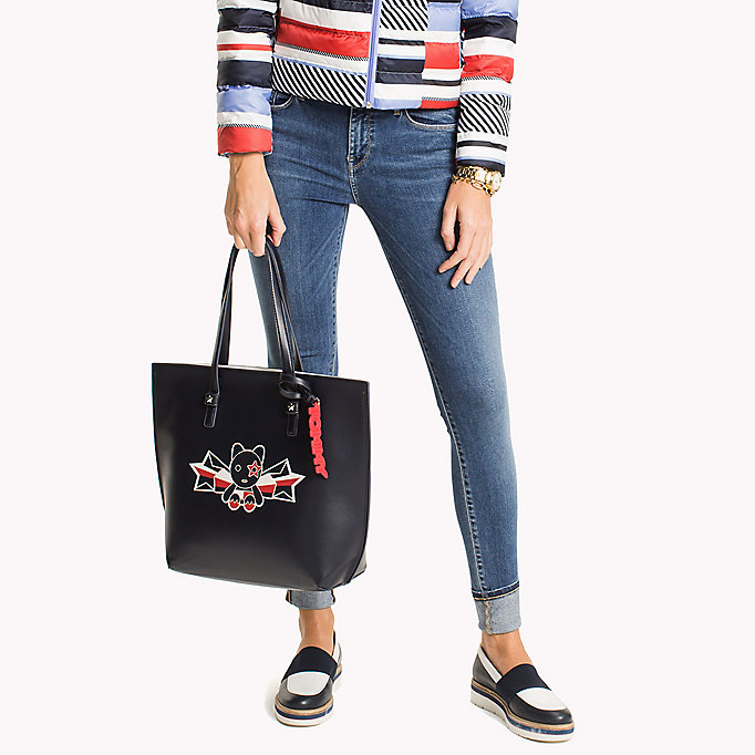TOMMY HILFIGER Stripe Tote Bag - MULTI STRIPE - TOMMY HILFIGER Women - detail image 3