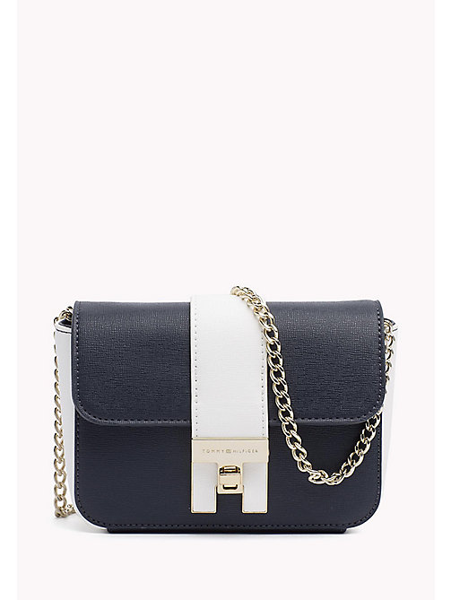 TOMMY HILFIGER Mini-crossbodytas - TOMMY NAVY/ BRIGHT WHITE - TOMMY HILFIGER Occasionwear - main image