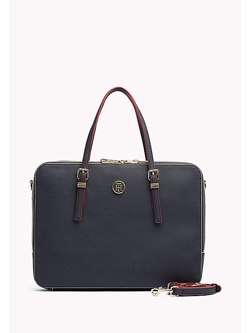 TOMMY HILFIGER Sophisticated Laptop Bag - TOMMY NAVY / EDGE PAINT - TOMMY HILFIGER Bags & Accessories - main image