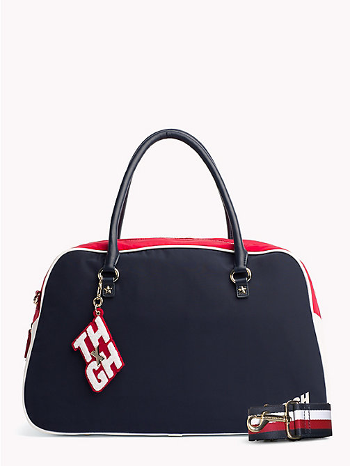 TOMMY HILFIGER Gigi Hadid Gym Duffel - TOMMY NAVY MIX - TOMMY HILFIGER Bags & Accessories - main image