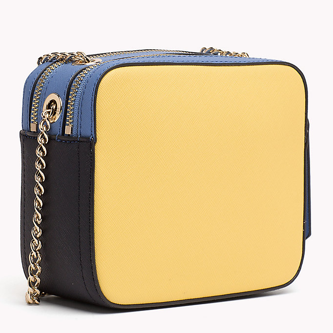 TOMMY HILFIGER Colour-Blocked Camera Bag - SURF THE WEB MIX - TOMMY HILFIGER Women - detail image 1