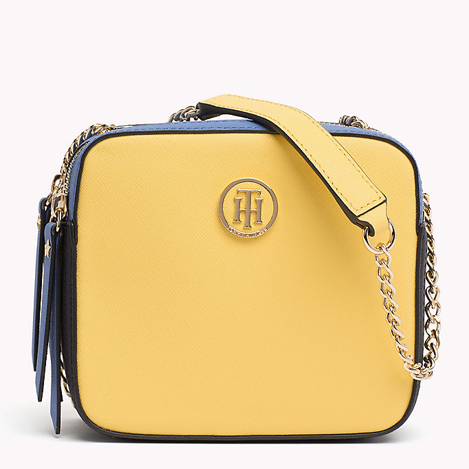 TOMMY HILFIGER Colour-Blocked Camera Bag - SURF THE WEB MIX - TOMMY HILFIGER Women - main image