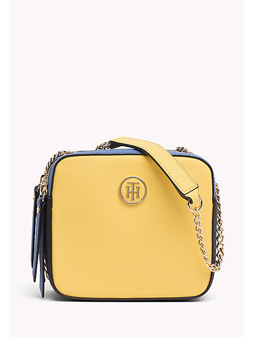 TOMMY HILFIGER Camera bag in color block - SUNSHINE MIX - TOMMY HILFIGER Borse A Tracolla - immagine principale