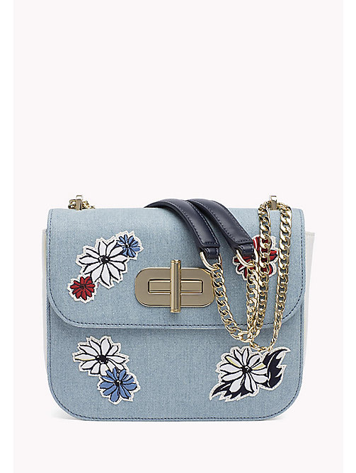 TOMMY HILFIGER Floral Cross Body Bag - FLORAL EMBROIDERY - TOMMY HILFIGER Bags & Accessories - main image
