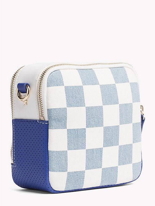 TOMMY HILFIGER Gigi Hadid Denim Crossover Bag - DNM CHECKERBOARD - TOMMY HILFIGER Bags & Accessories - detail image 1