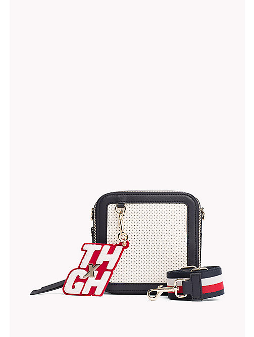 TOMMY HILFIGER Gigi Hadid Square Crossover Bag - TOMMY NAVY/ BRIGHT WHITE - TOMMY HILFIGER Bags & Accessories - main image