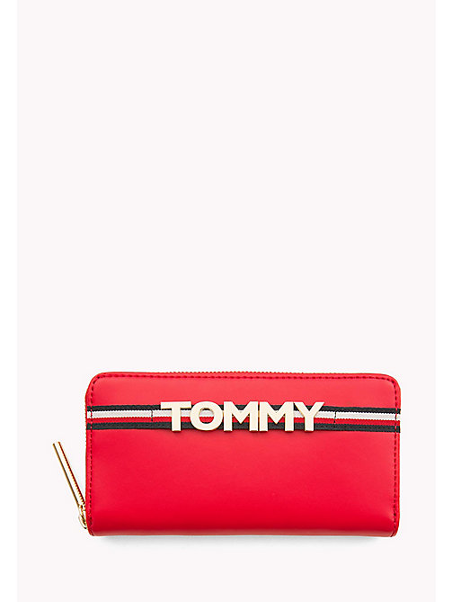 TOMMY HILFIGER Tommy Logo Leather Wallet - TOMMY RED - TOMMY HILFIGER Bags & Accessories - main image