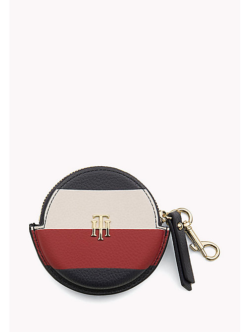 TOMMY HILFIGER Round Stripe Monogram Coin Purse - CORPORATE - TOMMY HILFIGER NEW IN - main image