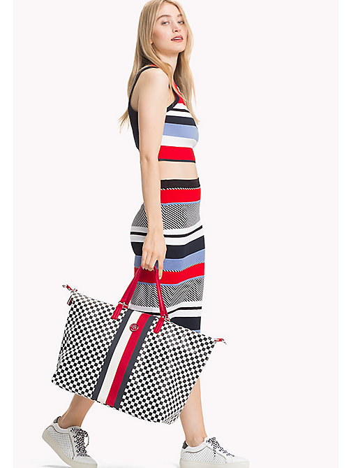 TOMMY HILFIGER Chequerboard Weekend Bag - CHECKER BOARD - TOMMY HILFIGER Duffle Bags - detail image 1