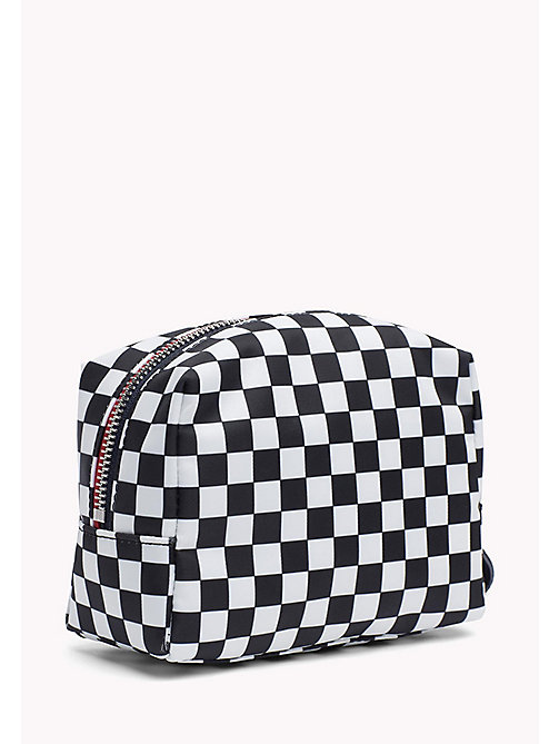 TOMMY HILFIGER Checkerboard Print Makeup Bag - CHECKER BOARD - TOMMY HILFIGER Make Up Bags - detail image 1