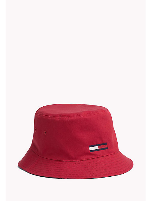 TOMMY JEANS Reversible Cotton Bucket Hat - CORPORATE - TOMMY JEANS Tommy Jeans Shoes & Accessories - detail image 1
