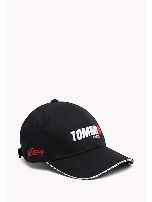 TOMMY JEANS Tommy Jeans Heart Embroidery Cap - BLACK - TOMMY JEANS Tommy Jeans Accessories - main image