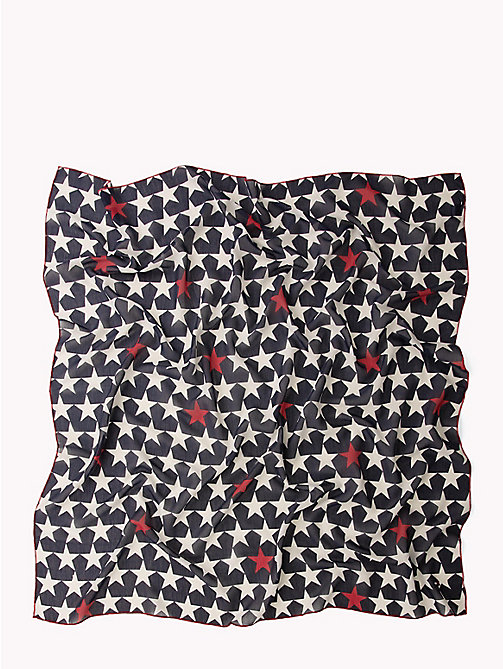 TOMMY JEANS Star Print Scarf - CORPORATE - TOMMY JEANS Tommy Jeans Shoes & Accessories - detail image 1