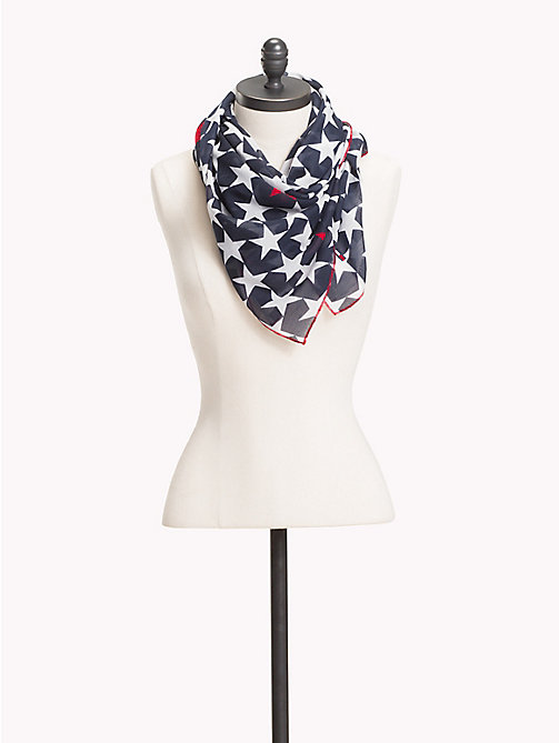 TOMMY JEANS Star Print Scarf - CORPORATE - TOMMY JEANS Tommy Jeans Shoes & Accessories - main image