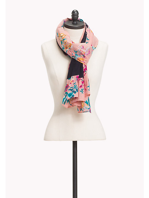 TOMMY JEANS TJW FLORAL SCARF - FLORAL PRINT 1 - TOMMY JEANS Taschen & Accessoires - main image