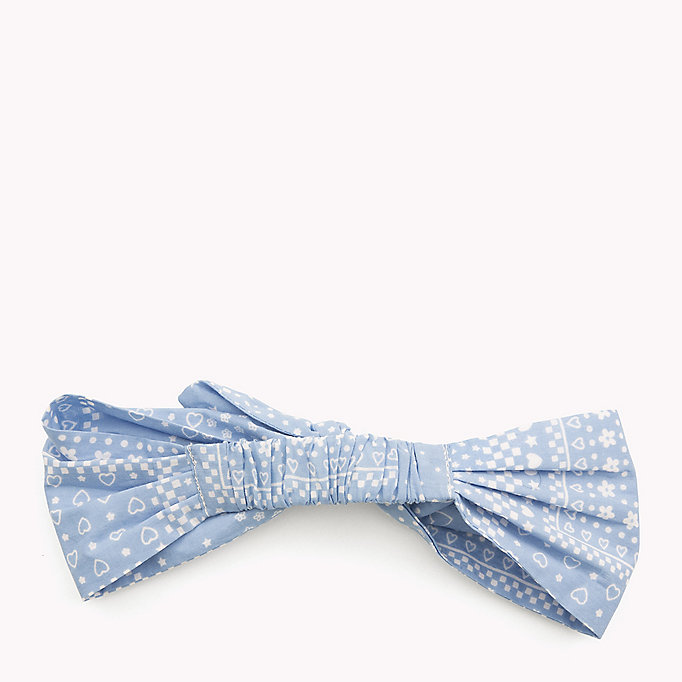 TOMMY HILFIGER Patterned Bow Headband - STAR PRINT - TOMMY HILFIGER Kids - detail image 1