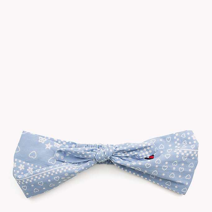 TOMMY HILFIGER Patterned Bow Headband - STAR PRINT - TOMMY HILFIGER Kids - main image