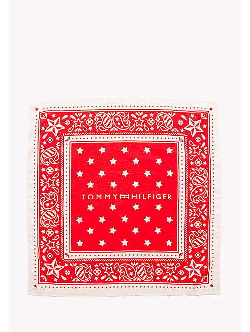 TOMMY HILFIGER Bandana Print Scarf - BANDANA PRINT - TOMMY HILFIGER Bags & Accessories - detail image 1