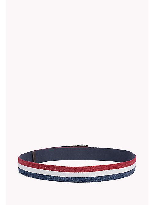 TOMMY JEANS TJW WEBBING BELT - CORPORATE GLITTER - TOMMY JEANS Tommy Jeans Accessories - detail image 1