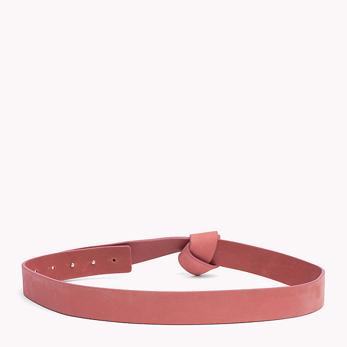 TOMMY JEANS Suede Wrap Belt - TOMMY NAVY - TOMMY JEANS Women - detail image 1
