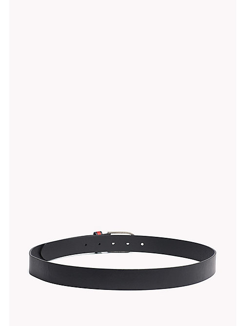 TOMMY JEANS TJW FLAG INLAY BELT 3.0 - BLACK - TOMMY JEANS Tommy Jeans Accessoires - main image 1
