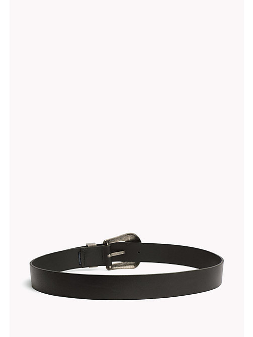 TOMMY JEANS Western Leather Belt - BLACK - TOMMY JEANS Tommy Jeans Shoes & Accessories - detail image 1