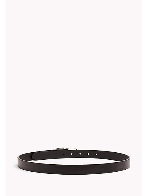 TOMMY HILFIGER Metal Detail Leather Belt - BLACK - TOMMY HILFIGER Gürtel - main image 1