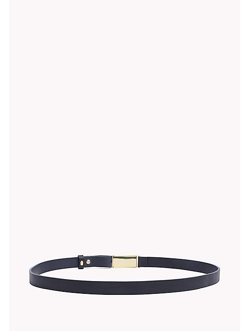 TOMMY HILFIGER Enamel Leather Belt - CORPORATE - TOMMY HILFIGER NEW IN - detail image 1