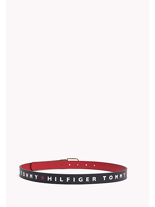 TOMMY HILFIGER Reversible Leather Belt - STAR-TOMMY RED - TOMMY HILFIGER NEW IN - detail image 1