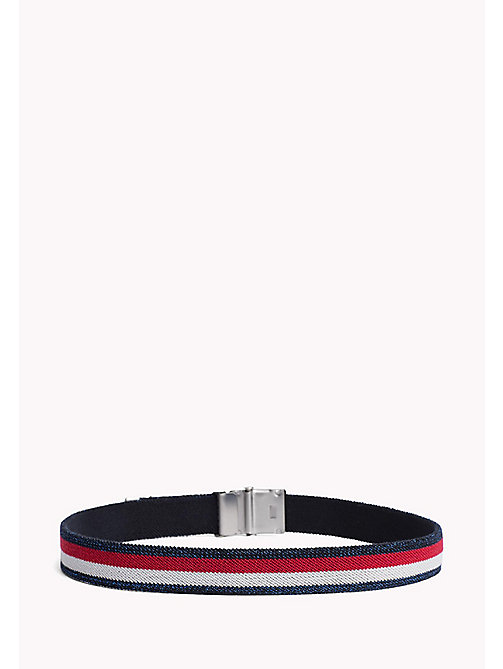 TOMMY HILFIGER Webbing Belt - CORPORATE GLITTER - TOMMY HILFIGER Shoes & Accessories - detail image 1