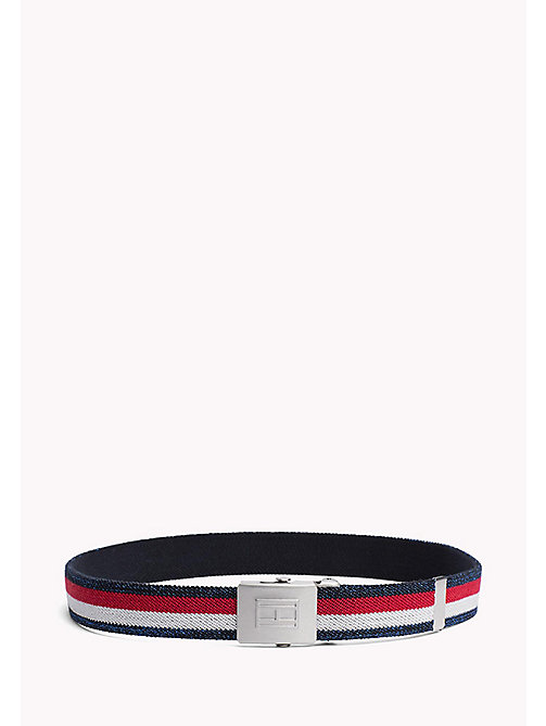 TOMMY HILFIGER Webbing Belt - CORPORATE GLITTER - TOMMY HILFIGER Shoes & Accessories - main image