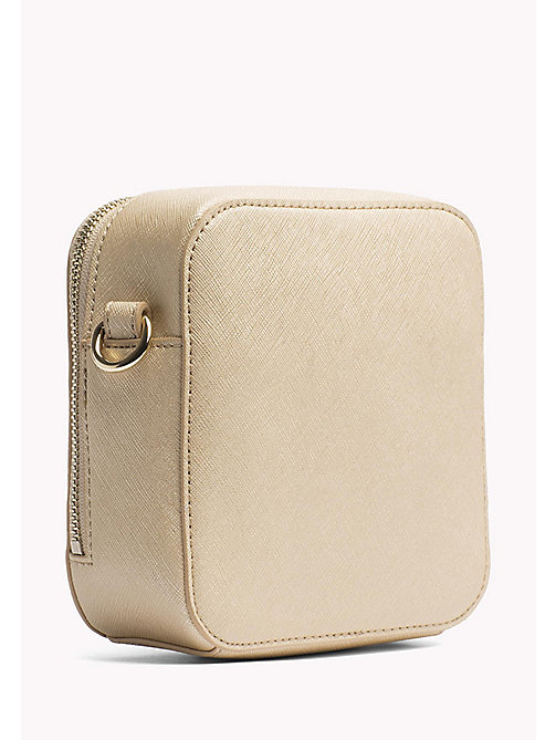 TOMMY HILFIGER Square Crossbody Bag - GOLD - TOMMY HILFIGER Crossbody Bags - detail image 1