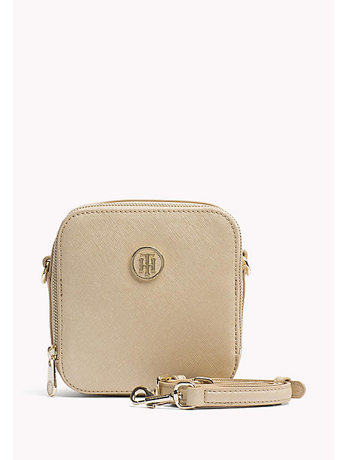 TOMMY HILFIGER Square Crossbody Bag - GOLD - TOMMY HILFIGER Bags & Accessories - main image