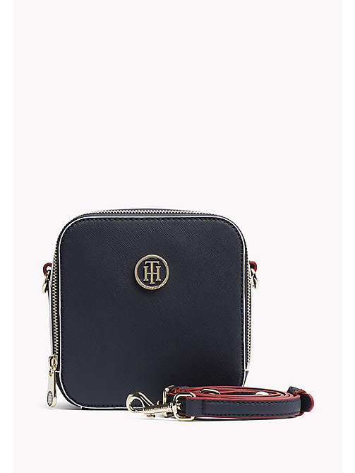 TOMMY HILFIGER Square Crossbody Bag - TOMMY NAVY / EDGE PAINT - TOMMY HILFIGER Crossbody Bags - main image