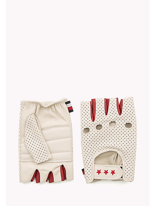 TOMMY HILFIGER Gigi Hadid Driving Gloves - WHITE - TOMMY HILFIGER Bags & Accessories - main image