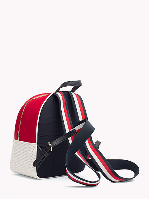 TOMMY HILFIGER Gigi Hadid Mini Backpack - TOMMY NAVY MIX - TOMMY HILFIGER Bags & Accessories - detail image 1