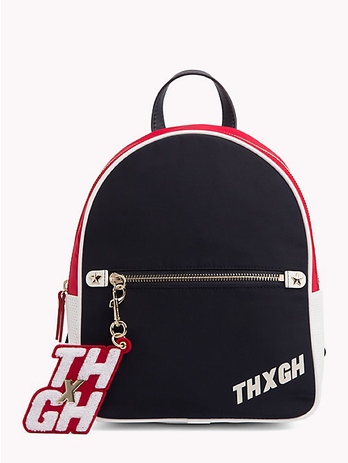 TOMMY HILFIGER Gigi Hadid Mini Backpack - TOMMY NAVY MIX - TOMMY HILFIGER Bags & Accessories - main image