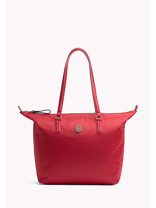 TOMMY HILFIGER Foldable Tote - TOMMY RED - TOMMY HILFIGER VACATION FOR HER - main image