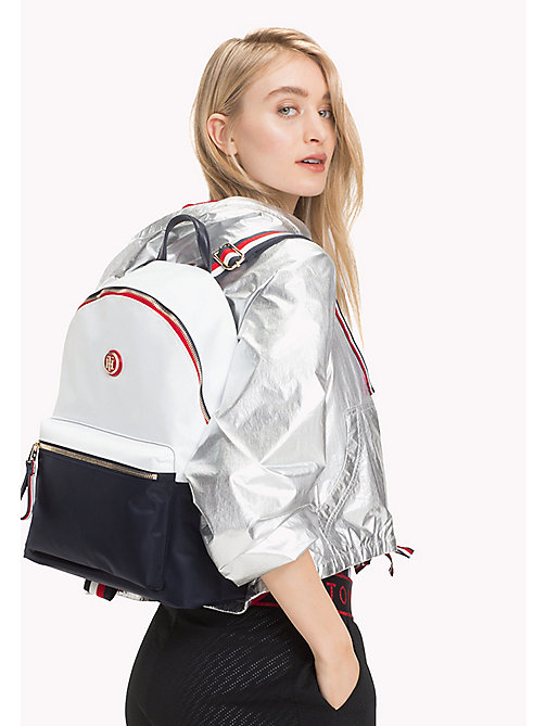 TOMMY HILFIGER Lightweight Stripe Strap Backpack - CORPORATE CB - TOMMY HILFIGER VACATION FOR HER - detail image 1