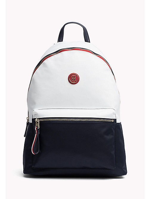 TOMMY HILFIGER Lightweight Stripe Strap Backpack - CORPORATE CB - TOMMY HILFIGER VACATION FOR HER - main image