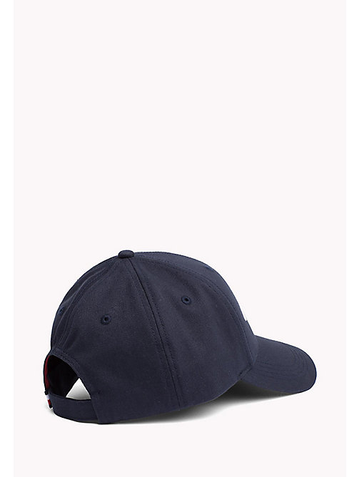 TOMMY HILFIGER Team Tommy Cotton Cap - TOMMY NAVY - TOMMY HILFIGER Hats - detail image 1